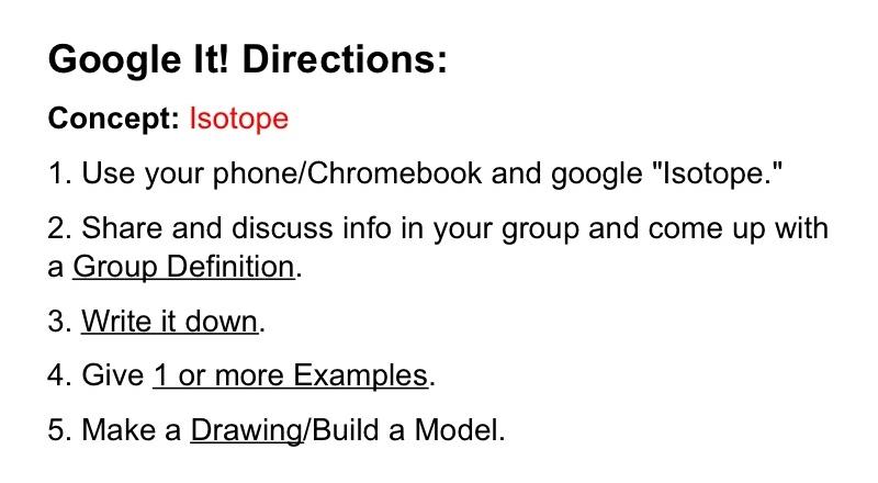 Google It! Collaborative Classroom Activity