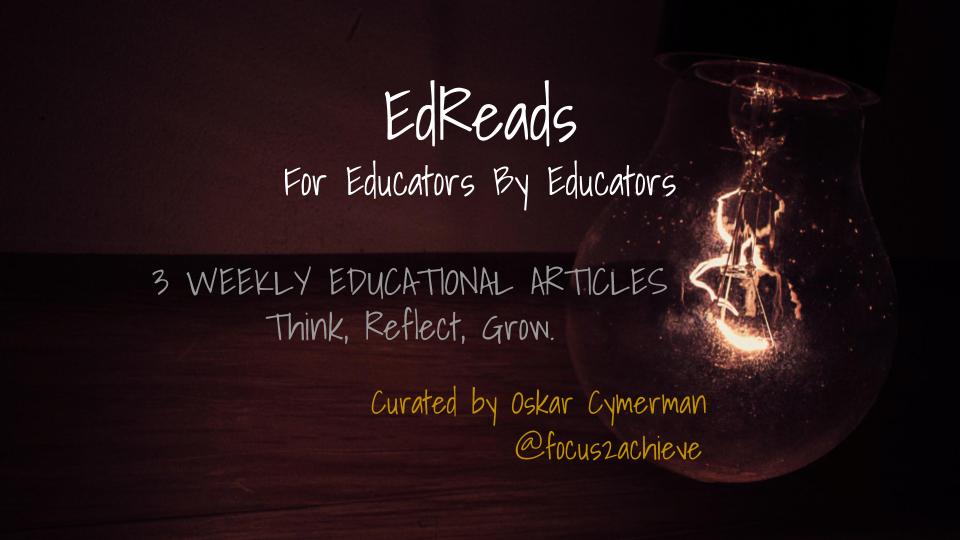 EdReads Weekly