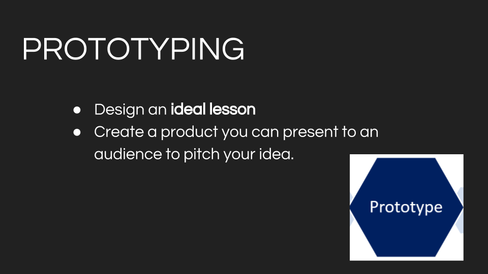 Design Thinking Learning - prototyping