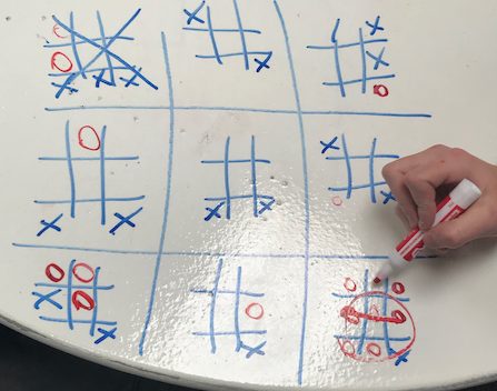 How To Teach Innovation and Ultimate Tic Tac Toe