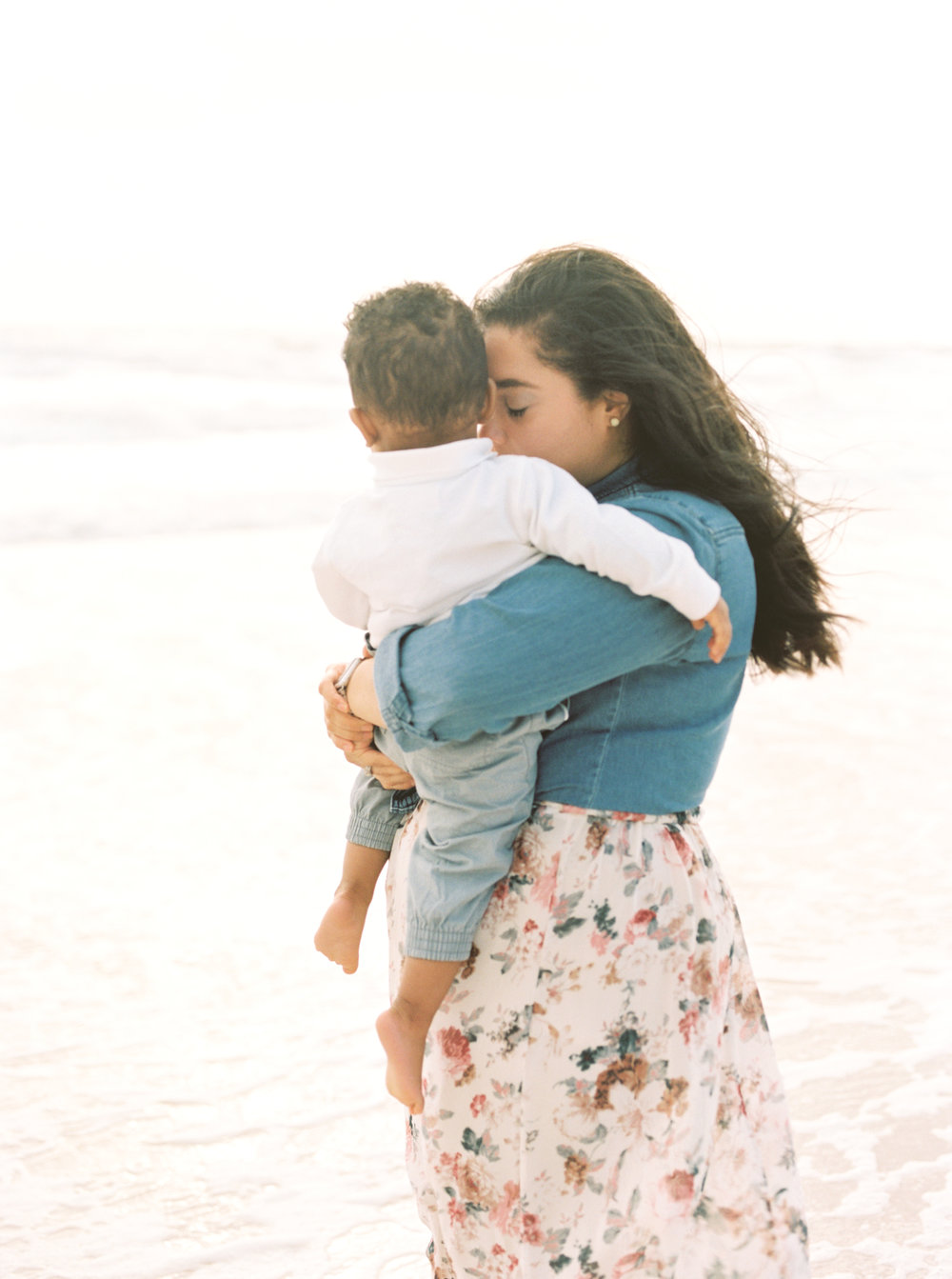 Family Beach Session Miami Family Photographer mom and son.jpg