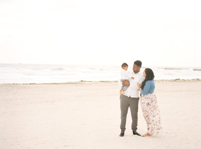 The Guerrero Family in South Beach, Miami, Florida