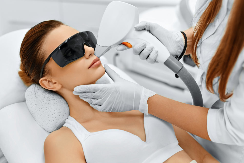Face Care. Facial Laser Hair Removal. Epilation. Smooth Skin.