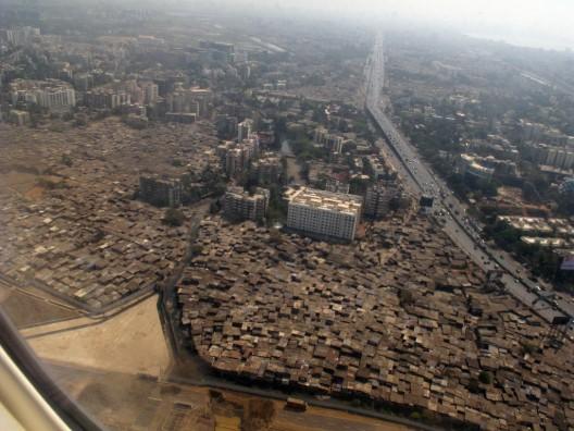 Aerial View of Mumbai : Courtesy of Flickr User Cactus Bones; Licensed via Creative Commons