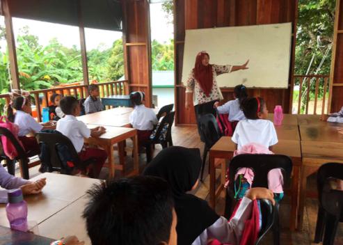 Etania School  by billionBricks in Sabah, Malaysia
