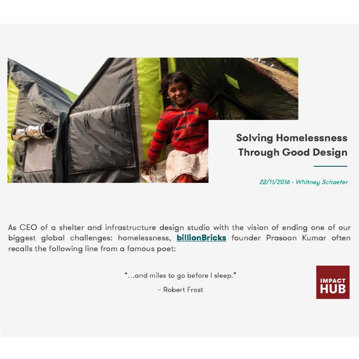 Solving homelessness through good design