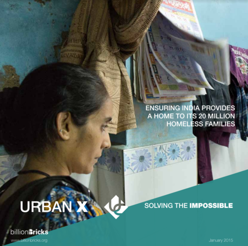 Urban X    A 6-month research plan on how to respond to India's call to end homelessness by 2022.