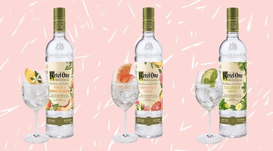 GET ONE NOW - Complimentary Ketel One or Tanqueray Drink