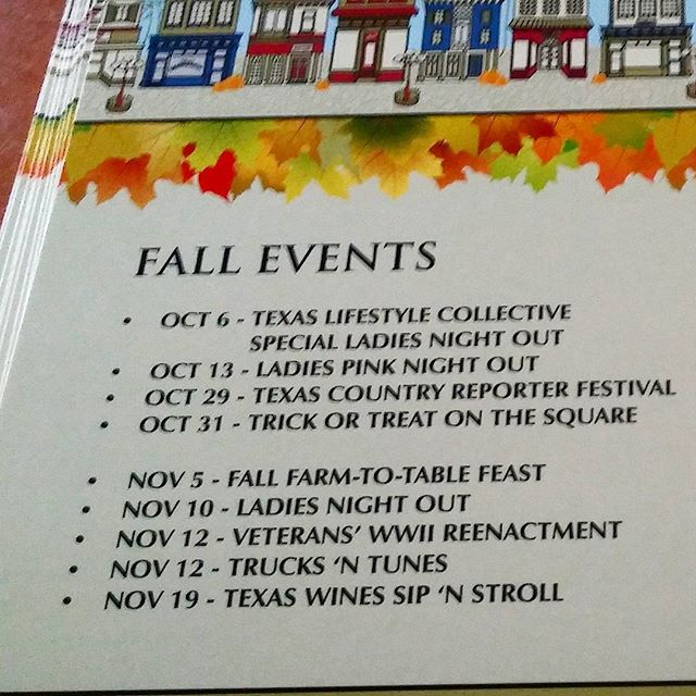 Mark your calendars for the events coming in Downtown Waxahachie!  #wdma #waxdntwn #waxahachietx #waxahachietexas #hachie