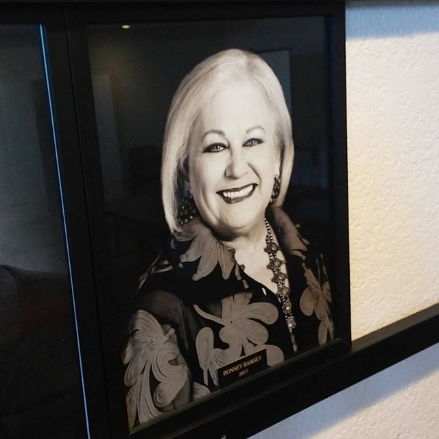 Delivered this beautiful portrait to the Waxahachie Chamber of Commerce of their awesome Chairman, Bonnie Ramsey.