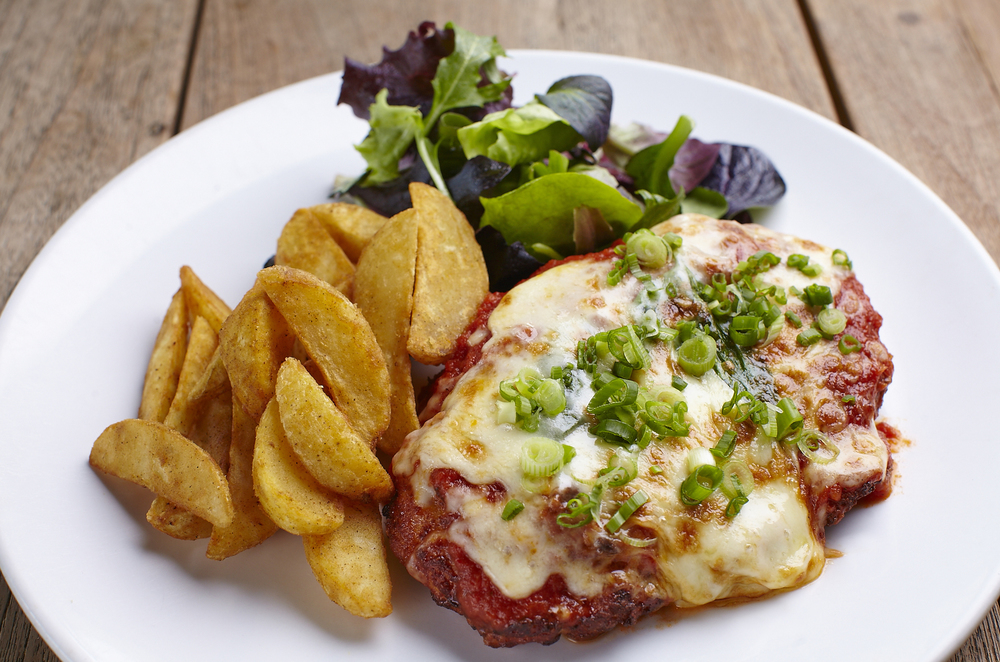 Delivery in Singapore | Chicken Parmigiana Cafe Melba