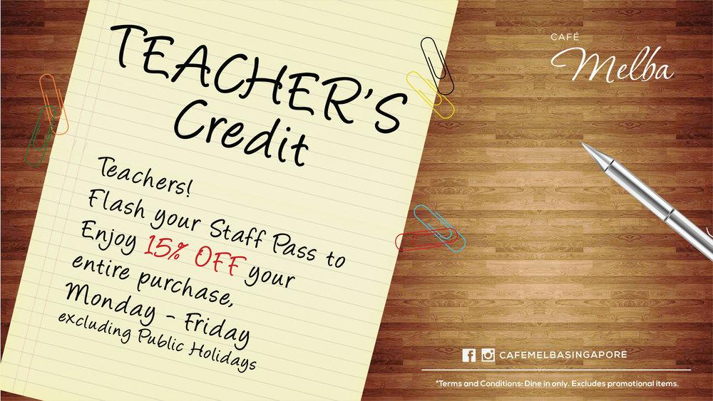 Calling all Teachers!