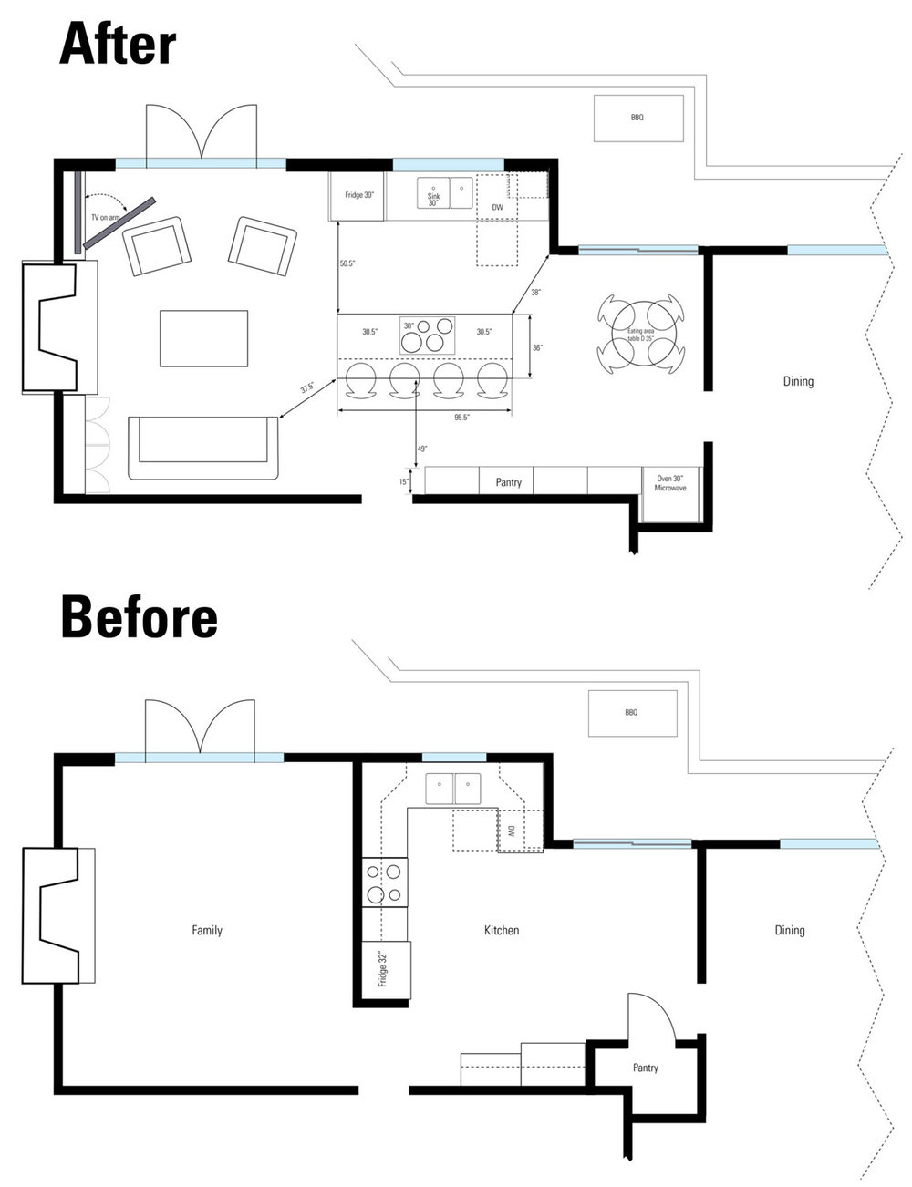 Tempe Kitchen layout before after.jpg