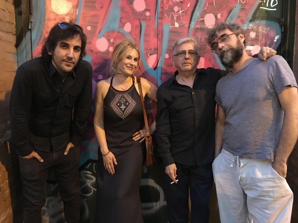My Sevilla Band . Photo courtesy of Nacho Beca