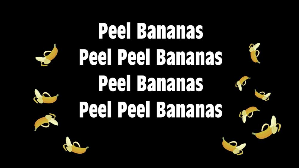 Bananasong!