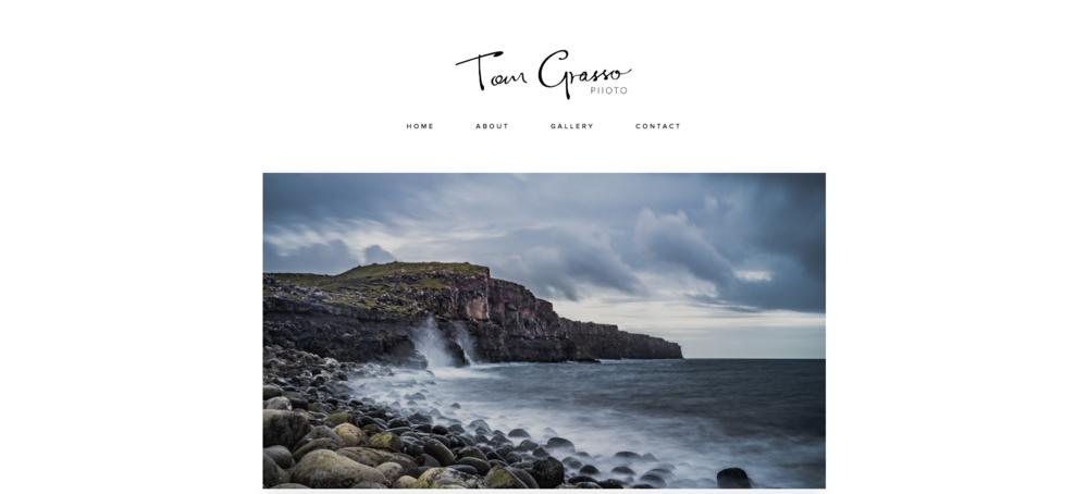 TOM GRASSO - PHOTOGRAPHY WEBSITE