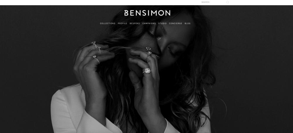 BENSIMON - JEWELRY WEBSITE