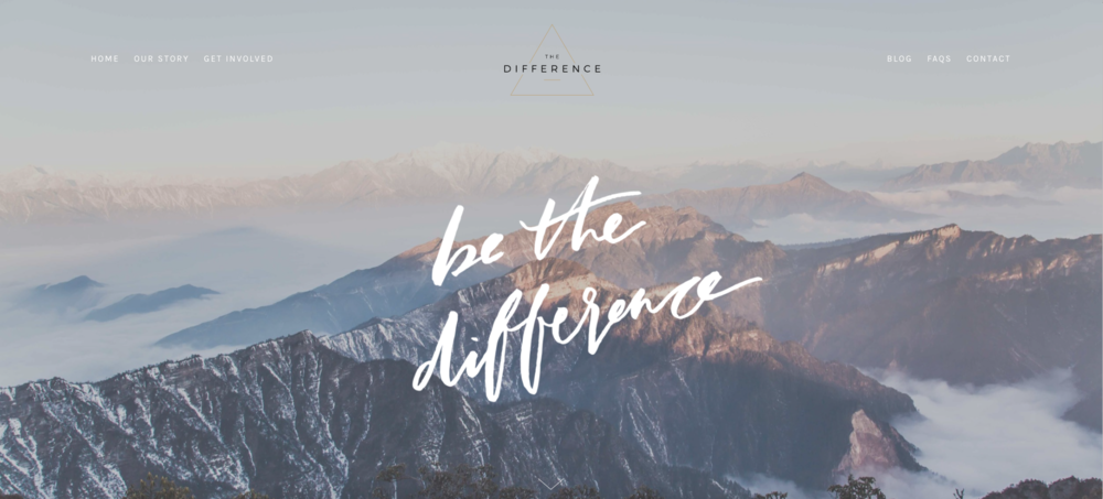 The Difference - Charity APP