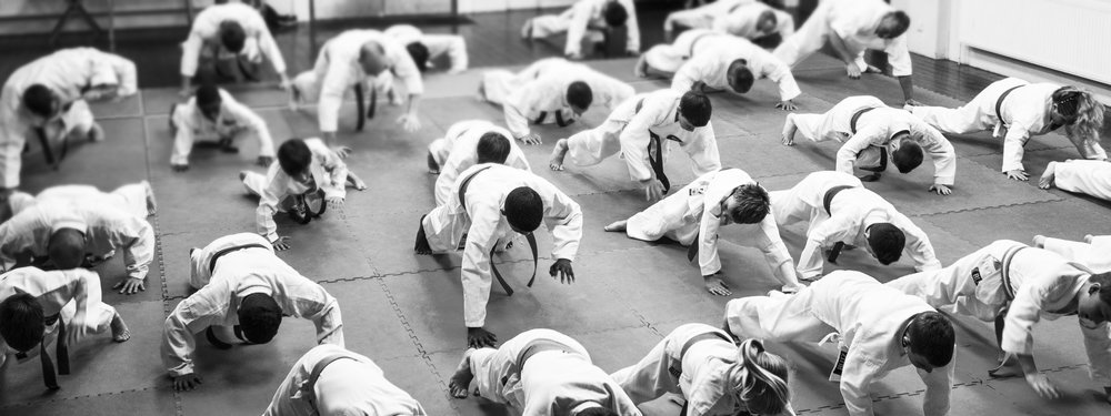Our martial arts training incorporate a high level of fitness.