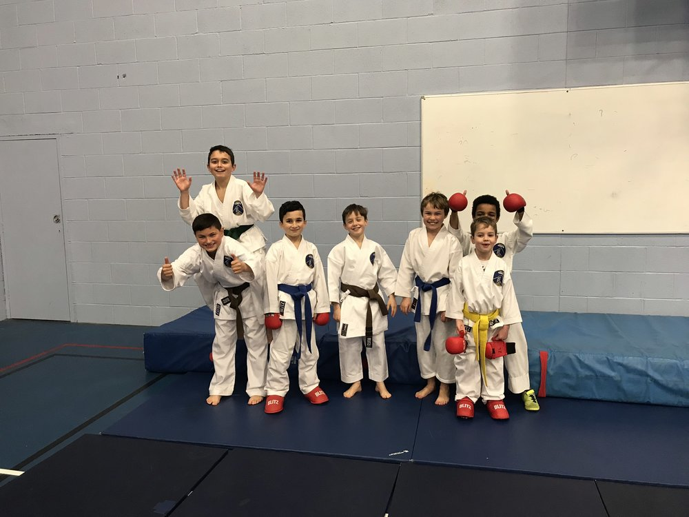 Our young  SKB  team compete in the Shukokai England Competiton 2018 held in Shrewsbury. The team performed in kata and kumite disciplines..