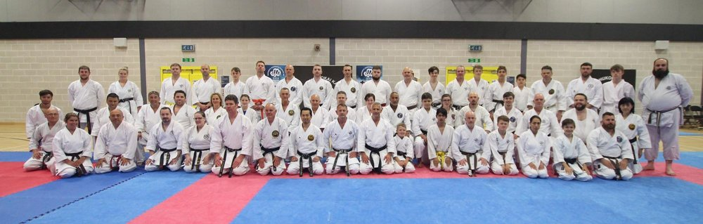 SHITO RYU SHUKOKAI UNION: With Sensei Masataka Ohshita 9th Dan and Sensei Chris Mileham 7th Dan,