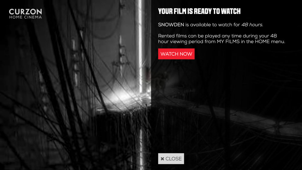 4. Select 'Watch Now' and enjoy your film!