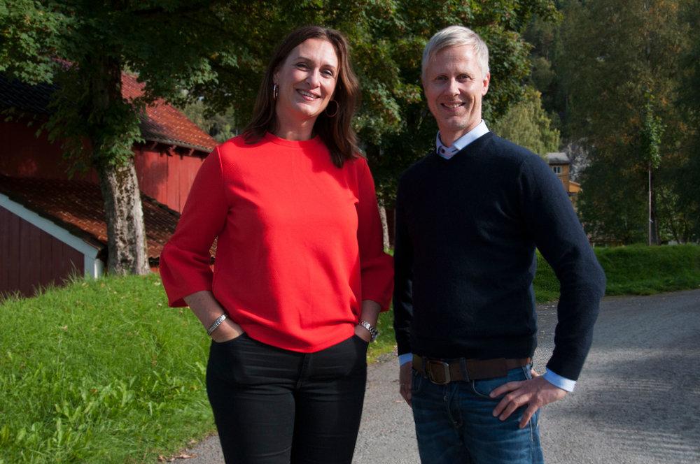 Inkubatorleiarane: Vanja Viken frå Aksello og Roger Ulvestad frå Kunnskapsparken i Sogn og Fjordane.