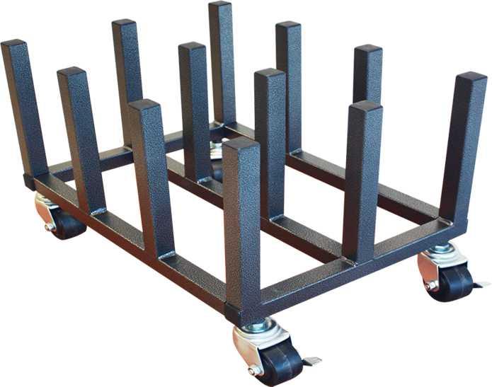 Mobile Floor Rack 12