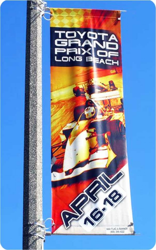 Single Pole Banner Picture