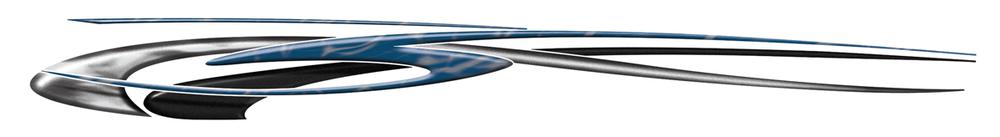 "002 Blue Combo ( 9"" x 84 1/4"")"
