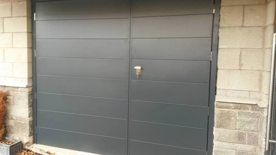 Side-hinged garage doors — Darlington Garage DoorsSide-hinged garage ...