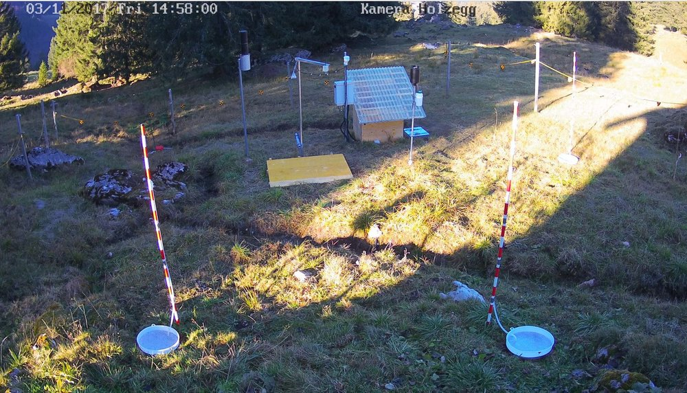 Webcam Holzegg from 2017-11-03 (source  @WSL_Hydrology )