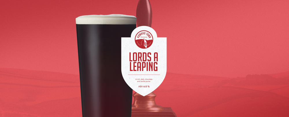 A rich dark chocolate and vanilla porter brewed for the festive period. 6.0%ABV