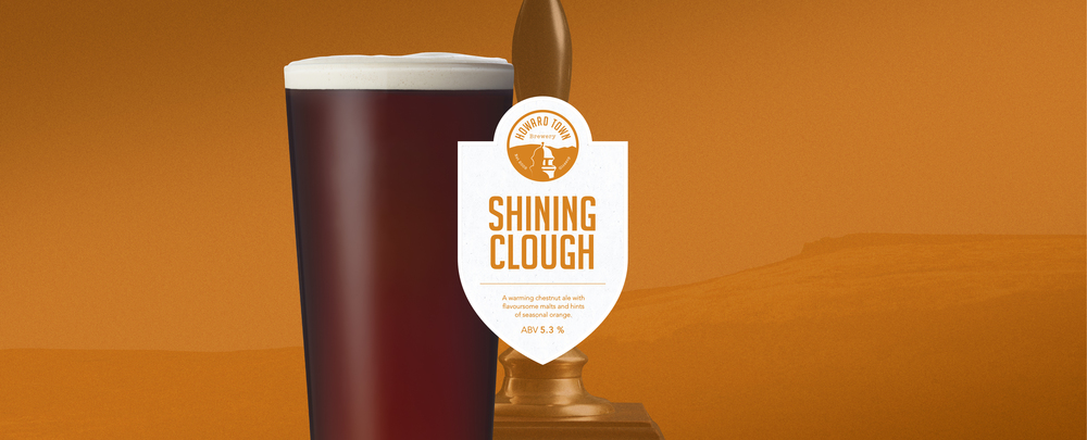 A warming chestnut ale with flavoursome malts and hints of seasonal orange. 5.3%ABV