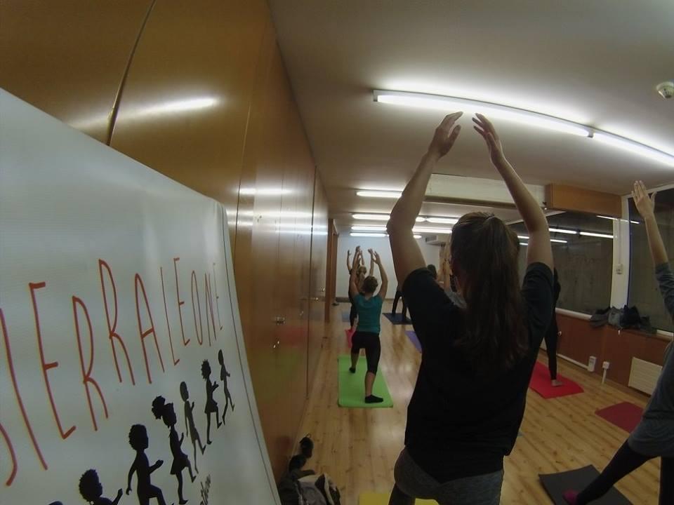 Yoga for Street Child!