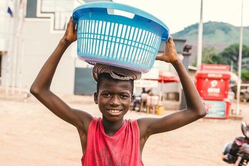 Niño Sierra Leona