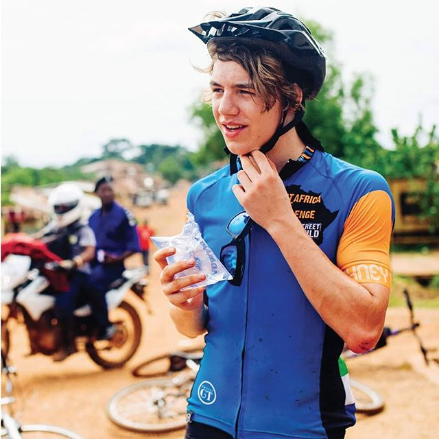 COULD YOU IMAGINE #CYCLING 300KM THROUGH THE AFRICAN JUNGLE WHILE LEAVING A LONG-LASTING IMPACT? #challengeaccepted #sportschangelives #cycle4sc