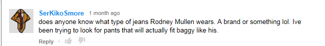 rodney youtube comment