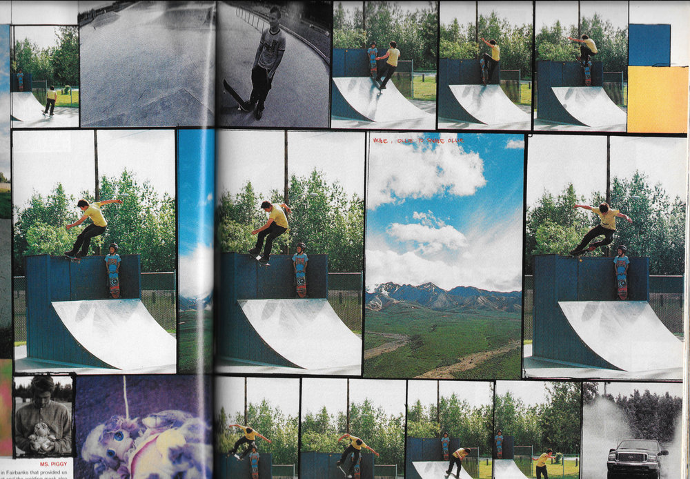 2000, Tail Stall - Slap Alaska trip - Photo: Joe Brook