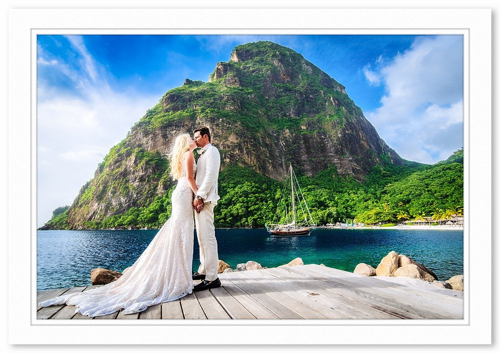 Sugar Beach Saint Lucia Wedding Photography