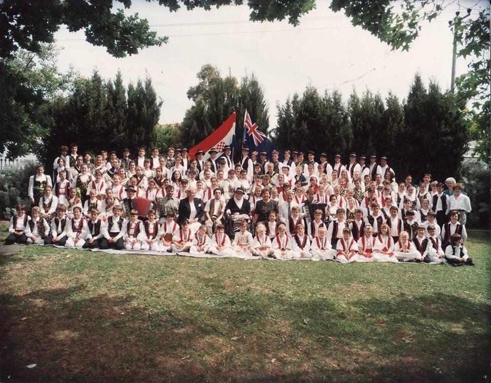 Mladi Hrvati circa 1992