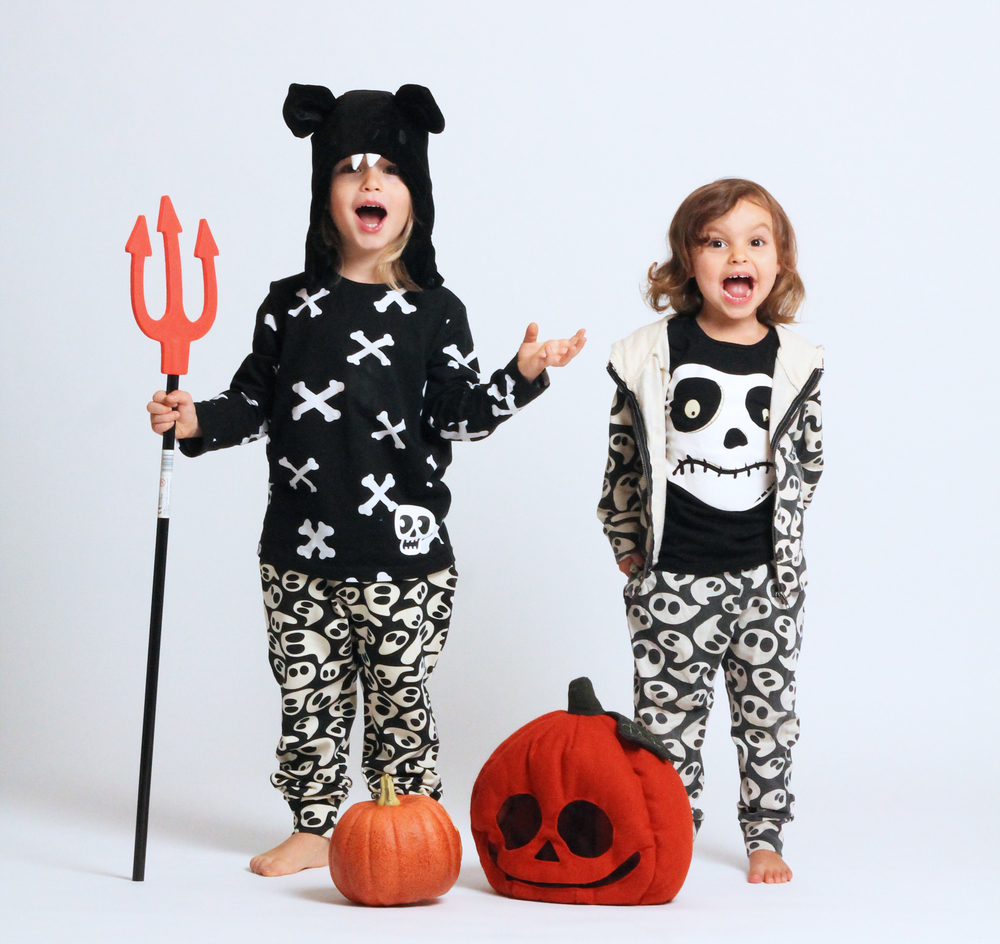 Naya grew into Willems spooky joggers from last year and the Nightmare before Christmas tee from H&M is still a favorite in our house. Plus, how can you not love the pumpkin head from 2012's All for children collection?