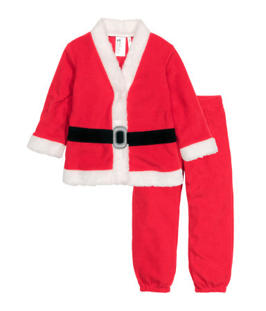 """Tomte"" costume, fleece - HM, 199 SEK"