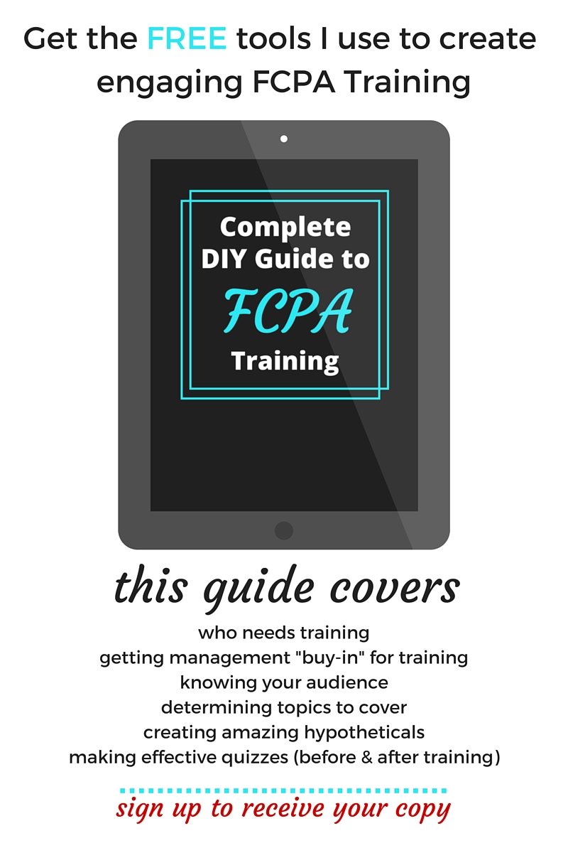 DIY FCPA Training Guide