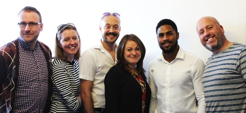 New Business Agency Sponge NB's team