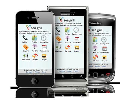 páginas web smartphones