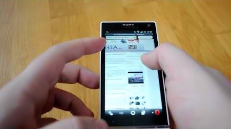 navegación smartphone