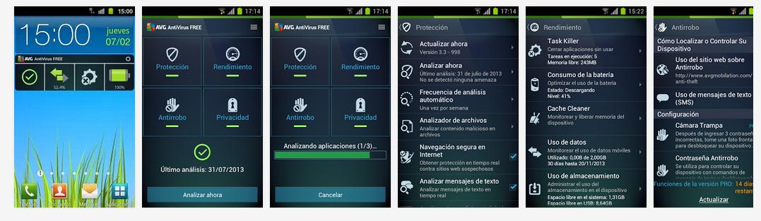 antivirus gratis android