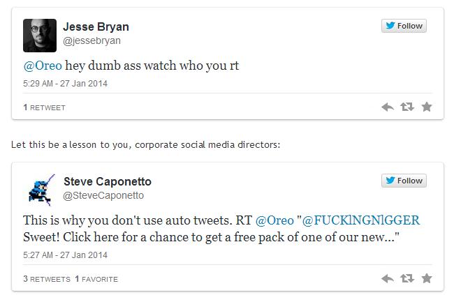 respuestas automaticas twitter oreo