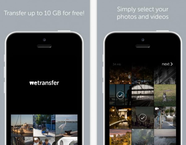 wetransfer ios